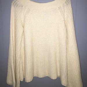 Fashion Nova Bell Sleeve sweater